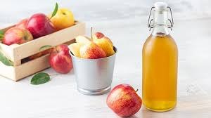 apple cider vinegar helps reduce weight.