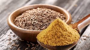 cumin or jeera helps in reduction of weight.